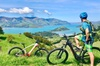 Guided Electric Mountain Bike & Sea Kayak Tour in Akaroa