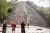 Private Tour Coba, Bike and Cenote Swim