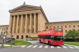 Double-Decker Hop-On Hop-Off Sightseeing Tour of Philadelphia at Philadelphia Sightseeing Tours, plus Up to 6.0% Cash Back from Ebates.