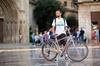 Gran recorrido en bicicleta por la ciudad