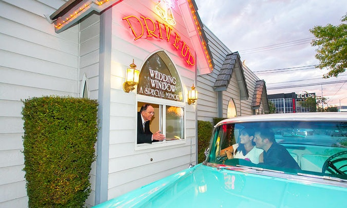 World Famous Drive Up Wedding In Las Vegas