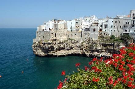 Tour privato: città di Polignano a Mare e tour in barca