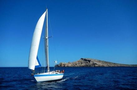 Día de navegación en Menorca