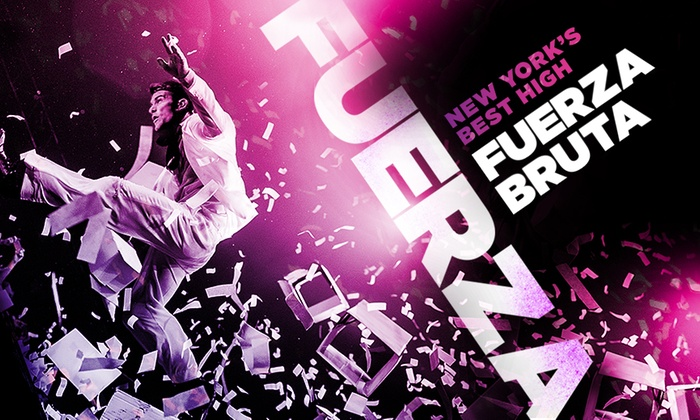 Daryl Roth Theatre - Union Square: Fuerza Bruta at Daryl Roth Theatre