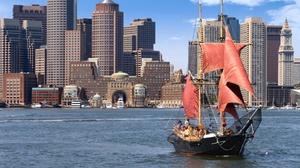Massachusetts Bay Lines Vessels: Pirate Ship Harbor Tour