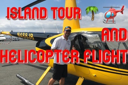 Oahu Helicopter Flight and Small Group Tour - Full day Land and 30 Min Air Tour f20e8a47-4f30-45a3-a521-a08c025af162