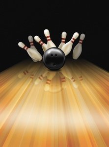 $36 For 1 Game Each Of Bowling & Mini-Glow Indoor Golf For 4 People, Including Shoe Rental & 4 Large Fountain Sodas (Regularly $72.76)