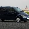 Privater Transfer bei Ankunft vom Flughafen Frankfurt im Luxus-Minibus