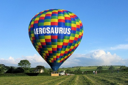 Experience: Champagne Balloon Flight from Larmer Tree Gardens, Wiltshire For just: £125.0