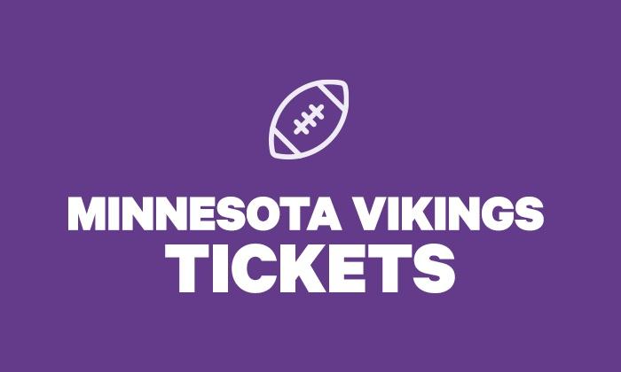 brand new b7a93 83df8 Minnesota Vikings Tickets
