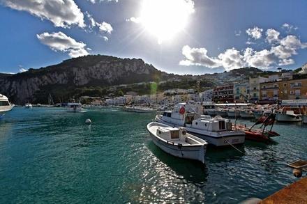 Promozione Esperienze Groupon.it Tour privato di un'intera giornata a Capri e Pompei da Sorrento