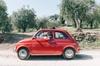 Tour privato in Toscana a bordo di una Fiat 500, da Firenze