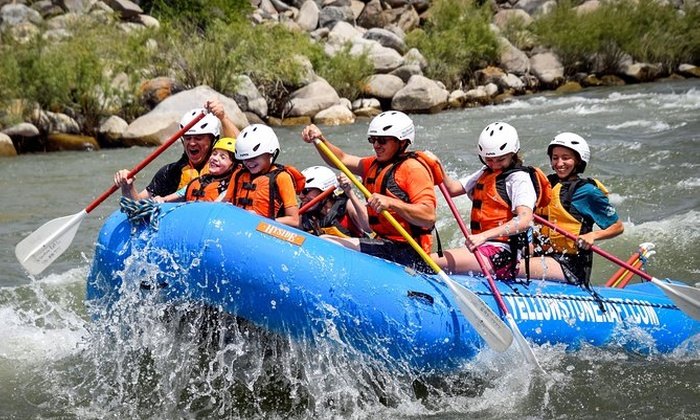 Whitewater Canyon Run on the Yellowstone River