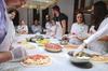 Corso di pizza e gelato con cena a Roma