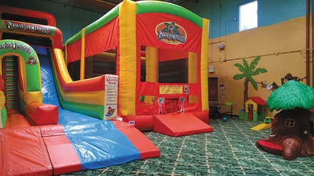 $15 For Three 2-Hour Play Sessions For 2 (1 Parent, 1 Child) (Reg. $30)