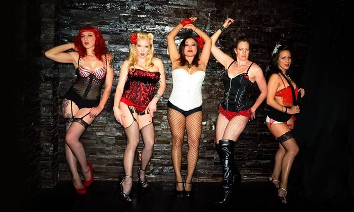 Burlesque strip tease video