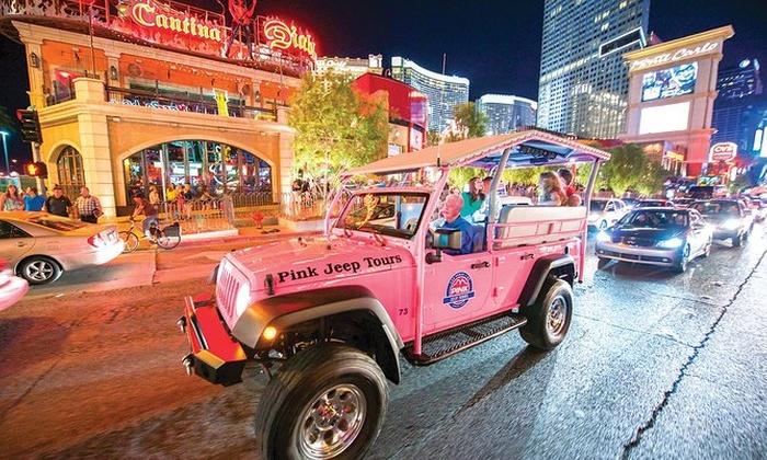 Pink Jeep Tours Las Vegas Pink Jeep Tours Las Vegas Groupon