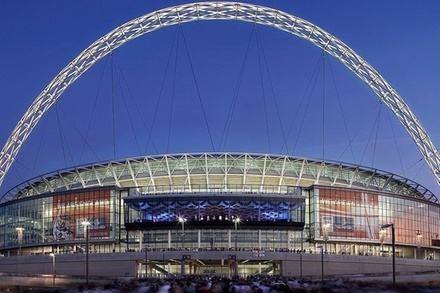 Wembley Stadium Luton Airport Private Transfer for 4-6 Travelers (London)