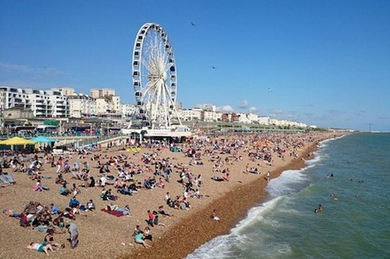 Private Round Trip Or One Way Transfer: Heathrow Airport to Brighton (London)