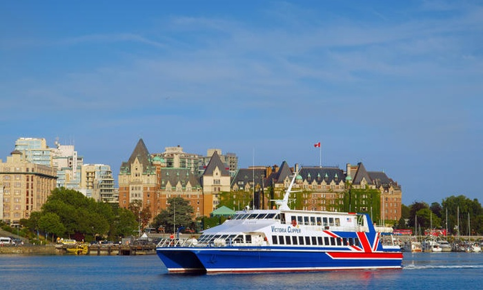 $69 for One Roundtrip Victoria Clipper Ferry Ticket from Seattle to Victoria, British Columbia from Clipper Vacations (Up to $ Value) Clipper Vacations. Belltown ( ratings) All reviews are from people who have redeemed deals with this merchant. What You'll Get%().