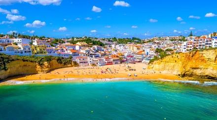 ✈ PORTUGAL | Algarve Carvoeiro Plaza Hotel 3* Oceanfront