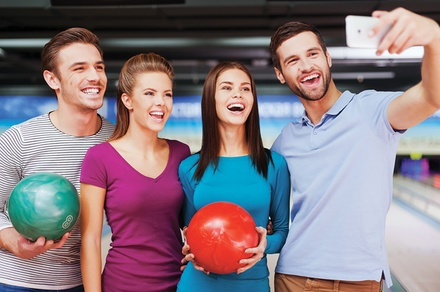 $34 For 90 Minutes Of Bowling Including Shoe Rentals, Large Pizza & Pitcher Of Soda For 5 (Reg. $68)