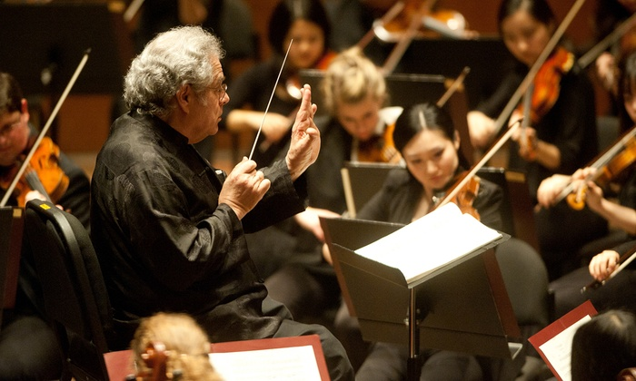 Harris Theater for Music and Dance in Millennium Park - Downtown: Itzhak Perlman Conducts the Juilliard Orchestra at Harris Theater for Music and Dance in Millennium Park