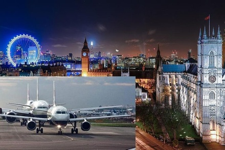 Private Transfer: Heathrow to Gatwick Airport Via London Attractions (London)