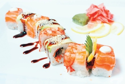 $20 For $40 Worth of Mexican & Japanese Cuisine