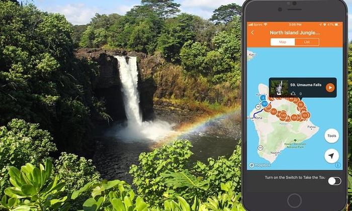 Big Island - North Island Jungle Driving Tour App