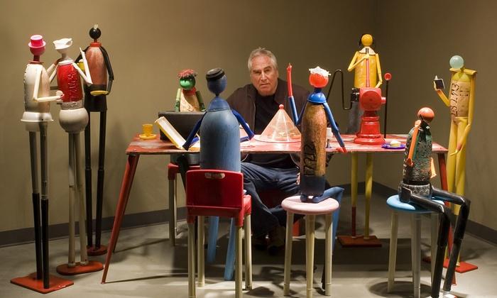 Washington DCJCC - Dupont Circle: Plastic Man: The Artful Life of Jerry Ross Barrish at Washington DCJCC