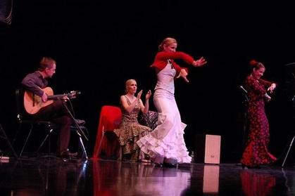 Tapas y espectáculo de flamenco