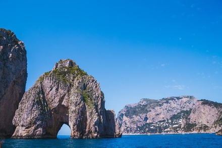 Coupon Tour & Giri Turistici Groupon.it Capri vista mare: tour panoramico della città in barca da Napoli