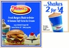 $10 For $20 Worth Of American Fare & Ice Cream