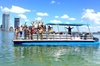 Two Hour Private Party Charter on a Large Pontoon Miami & Miami Beach