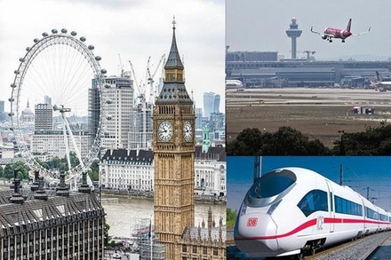 Private Transfer from Heathrow Airport to St Pancras station via London Hotel (London)