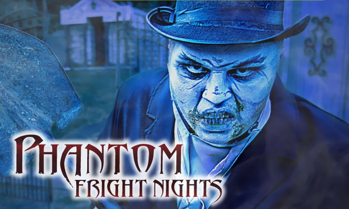 Phantom fright nights coupons