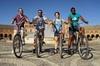 Día de alquiler en Bicicleta por la ciudad de Sevilla.