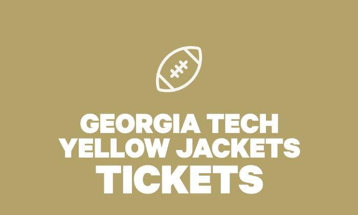 Georgia Tech Yellow Jackets F Georgia Tech Yellow Jackets Football Groupon