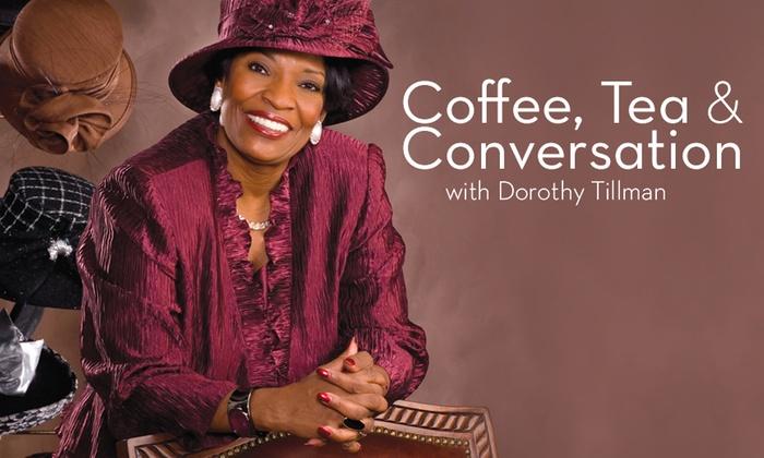 Harold Washington Cultural Center - Bronzeville: Coffee, Tea and Conversation With Dorothy Tillman/Keynote Speaker Dr. Claud Anderson at Harold Washington Cultural Center
