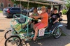 4 person surrey Bike