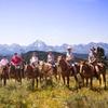 Horseback Riding in the Bridger-Teton National Forest