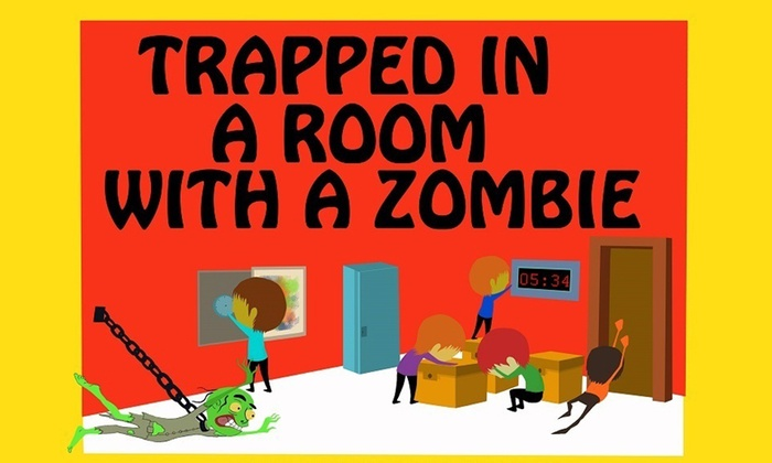 Room Escape Adventures Boston - Room Escape Adventures: Trapped in a Room With a Zombie at Room Escape Adventures Boston