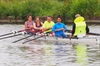 Learn to row on the Sharpness Canal