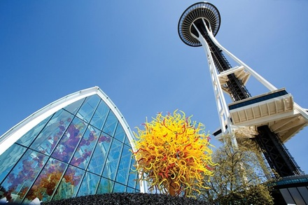 Space needle space needle groupon - Chihuly garden and glass discount tickets ...