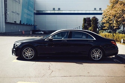 Arrival Private Transfer: Boston Airport BOS to Boston City in Business Car