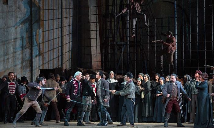 Metropolitan Opera House - Lincoln Center: Il Trovatore at Metropolitan Opera House