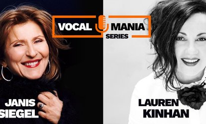 "image for ""Vocal Mania Series"": Janis Siegel & Lauren Kinhan"