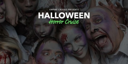Halloween Horror Cruise - Saturday October 28, 2017 / 8:30pm (Boarding Starts at 8:00pm)