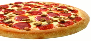 $10 For $20 Worth Of Pizza, Chicken, Ribs & Seafood at Happy's Pizza, plus 6.0% Cash Back from Ebates.